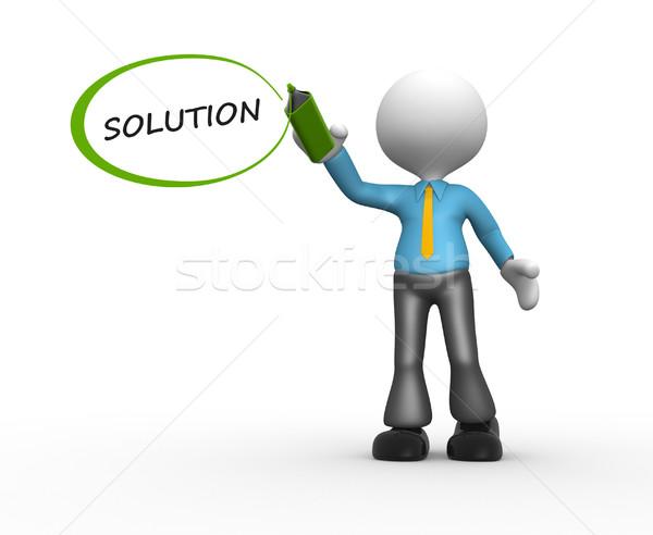 Solution Stock photo © orla