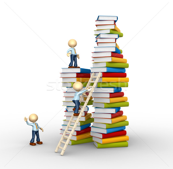 Aspiration to knowledge!  Stock photo © orla