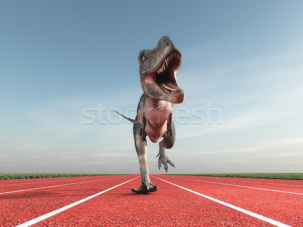 Giant prehistoric monster  Stock photo © orla