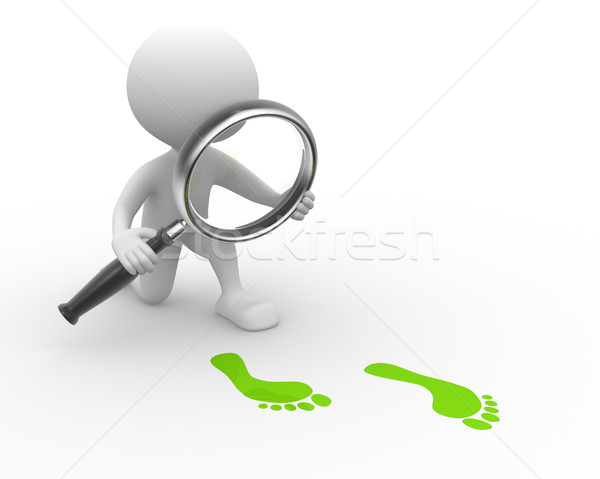 Magnifying glass Stock photo © orla