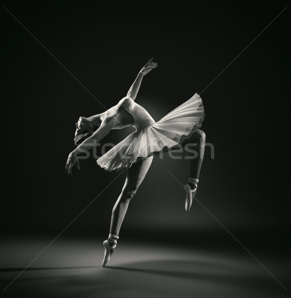 Beautiful ballerina Stock photo © orla