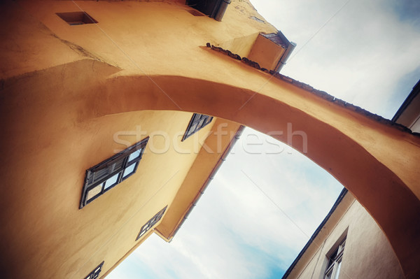 Medieval view in citadel  Stock photo © orla
