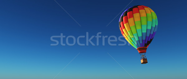 Hot air balloon  Stock photo © orla