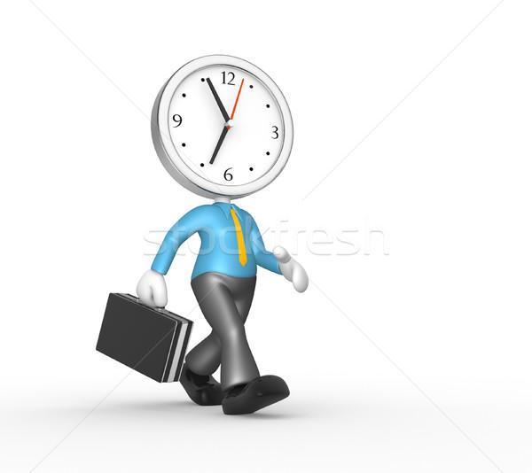 A clock Stock photo © orla