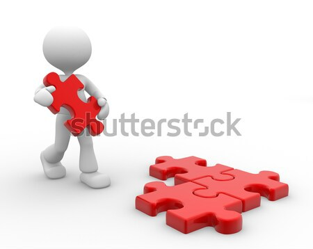 Puzzles Stock photo © orla