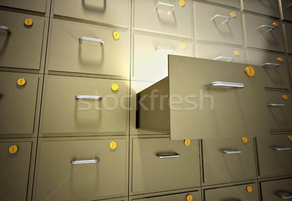 File cabinet Stock photo © orla
