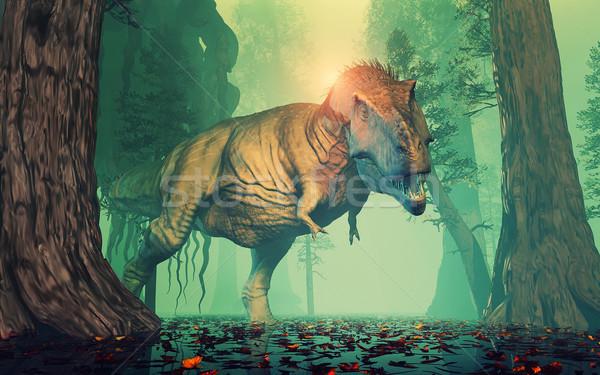 Trex dinosaur Stock photo © orla