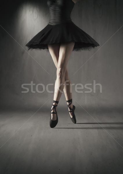 Ballet legs Stock photo © orla