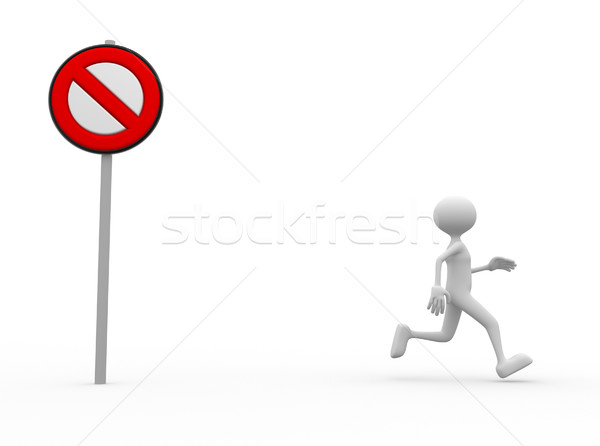 Stop sign Stock photo © orla
