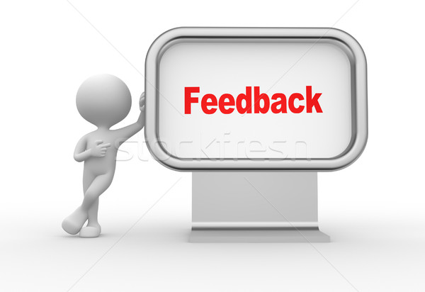 Feedback Stock photo © orla