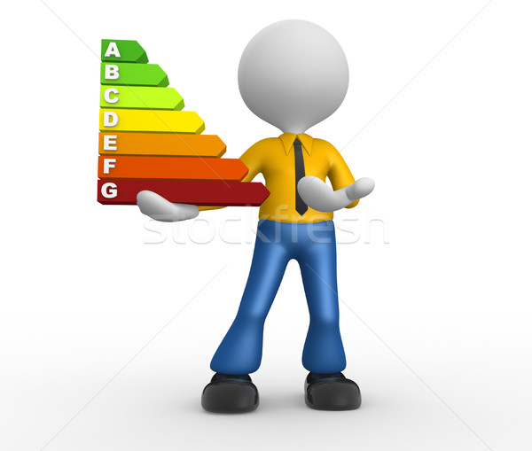 Energy chart Stock photo © orla
