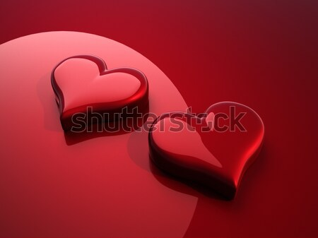 Hearth symbol Stock photo © orla