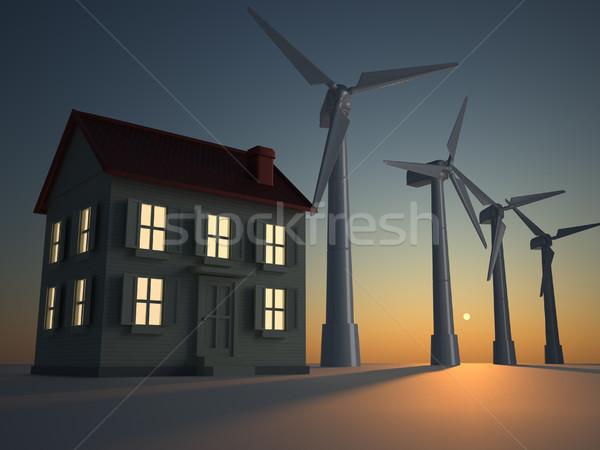 Alternative energy Stock photo © orla