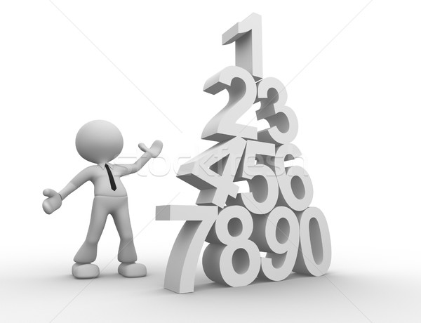 Numerals Stock photo © orla