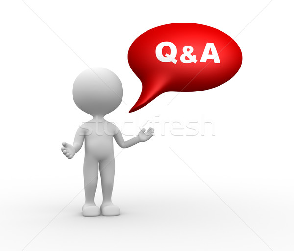 Q&A - Question and answer  Stock photo © orla