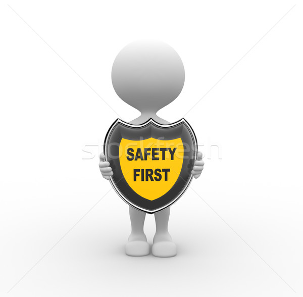 Safety first Stock photo © orla