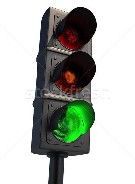 Green light Stock photo © orla