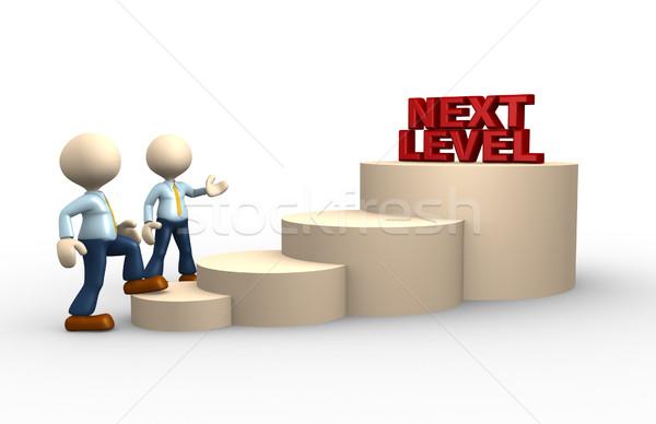 Next level Stock photo © orla