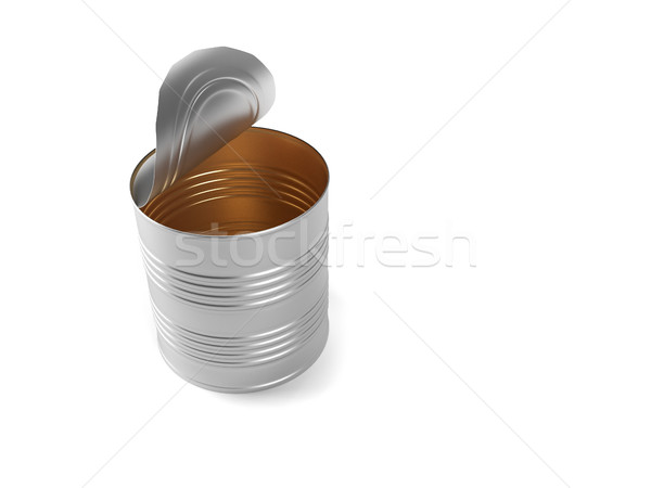 Opened can Stock photo © orla
