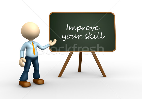Improve your skill Stock photo © orla