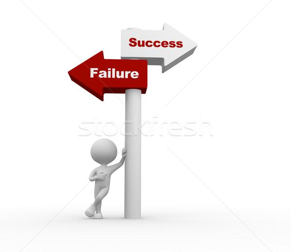 Success or failure.  Stock photo © orla