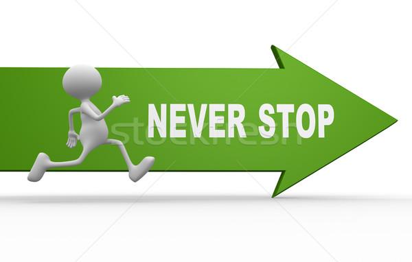 Never stop Stock photo © orla