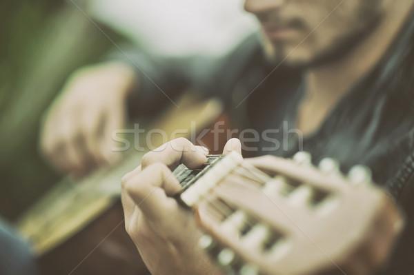 Guitar Stock photo © orla