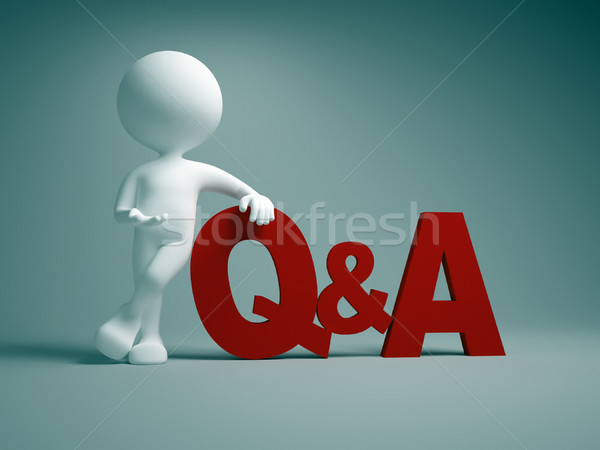 Q&A. Questions and answers  Stock photo © orla