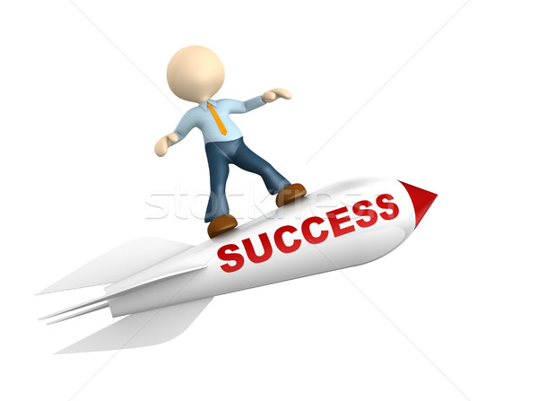 Success concept Stock photo © orla
