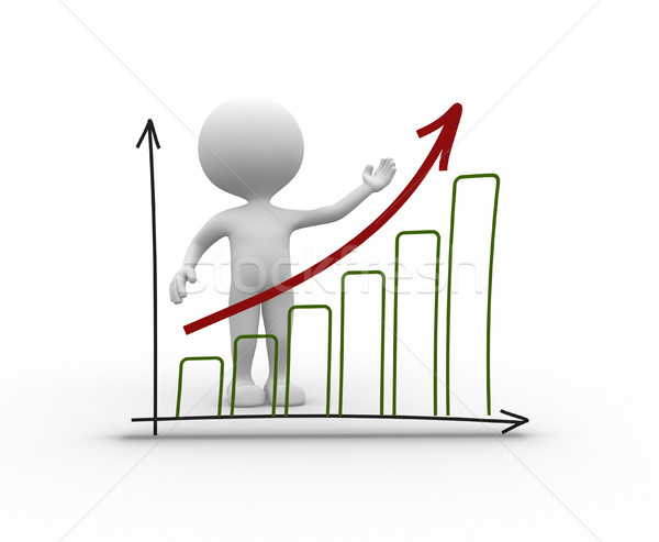 Chart financial. Success  Stock photo © orla