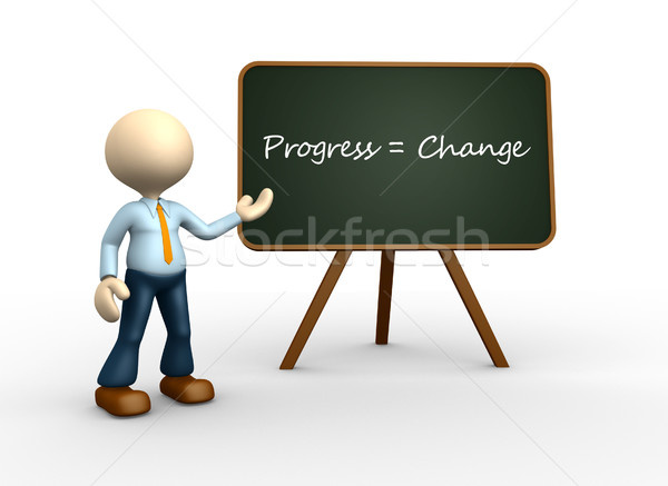 Progress and change Stock photo © orla