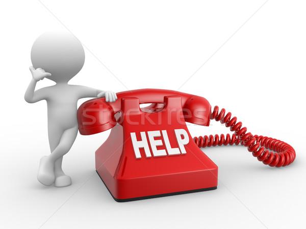 Stock photo: Help
