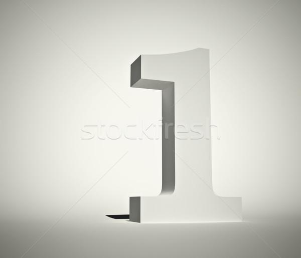 Legelső 3D render illusztráció textúra iskola Stock fotó © orla