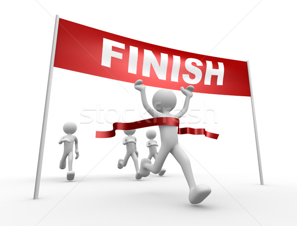 Finish line Stock photo © orla