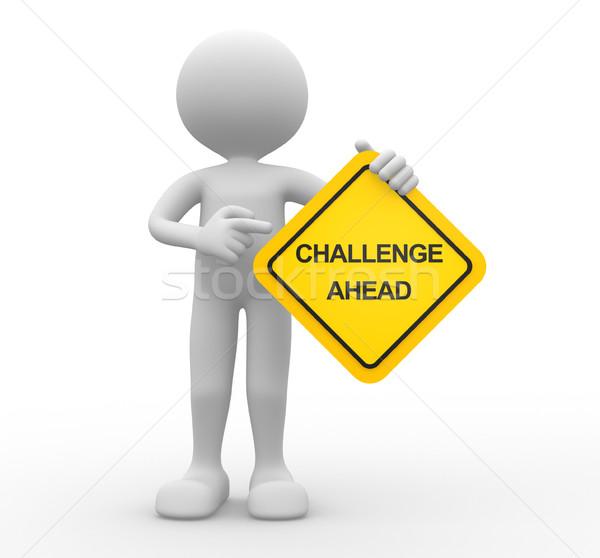 Challenge ahead Stock photo © orla