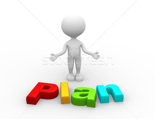 Stock photo: Plan concept
