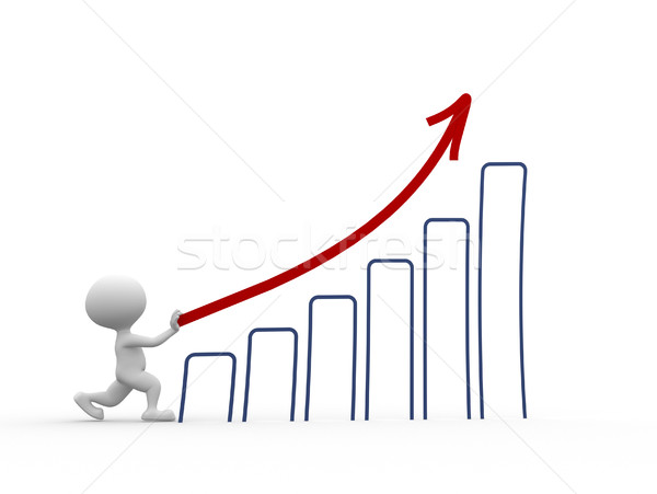 Chart financial Stock photo © orla