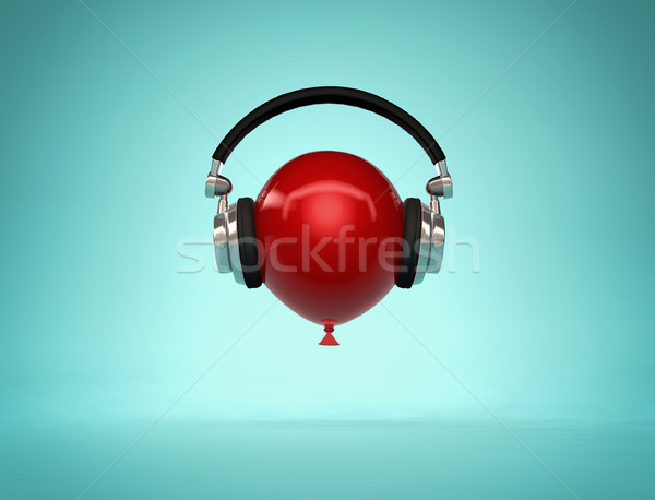 Slow music concept  Stock photo © orla