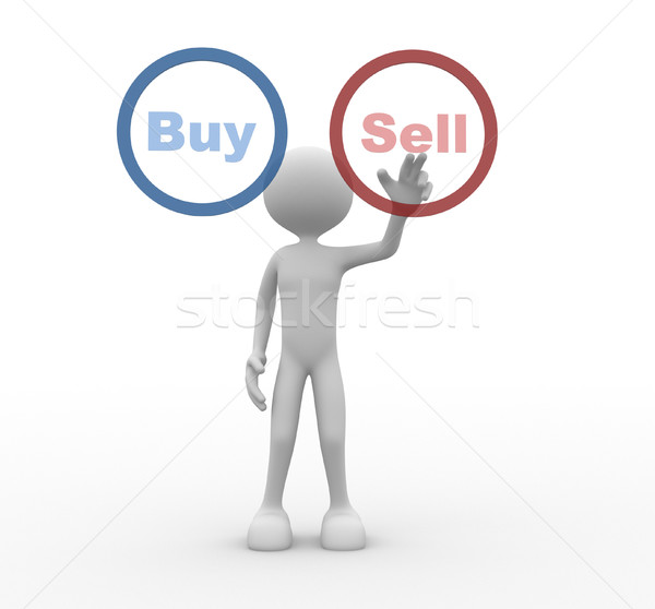 Buy or sell Stock photo © orla