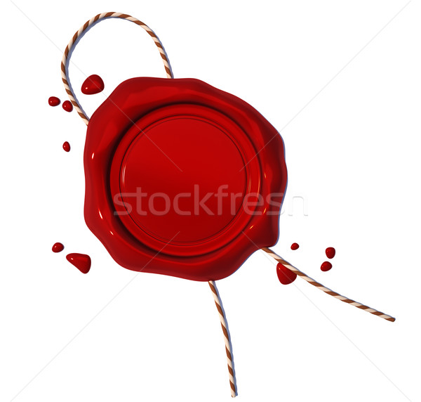 Wax seal  Stock photo © orla