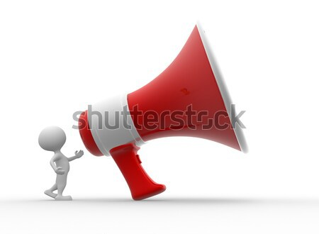 Big megaphone Stock photo © orla