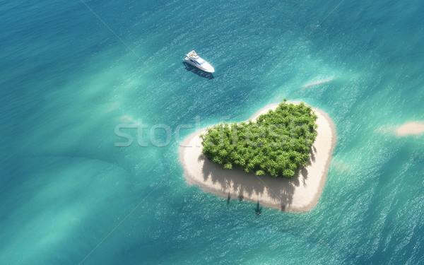 Paradise island  Stock photo © orla