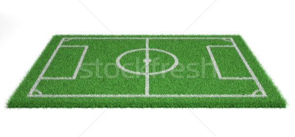 Football (soccer ) field  Stock photo © orla