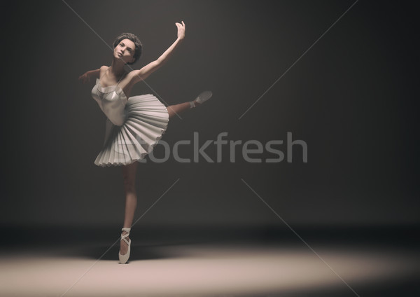 Beautiful ballerina  Stock photo © orla