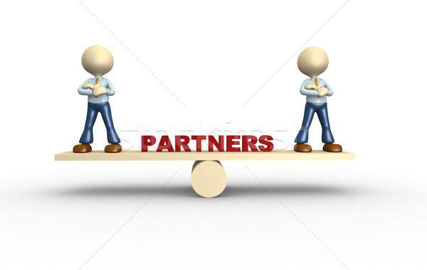 Partenership Stock photo © orla
