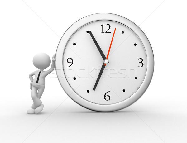 Clock Stock photo © orla