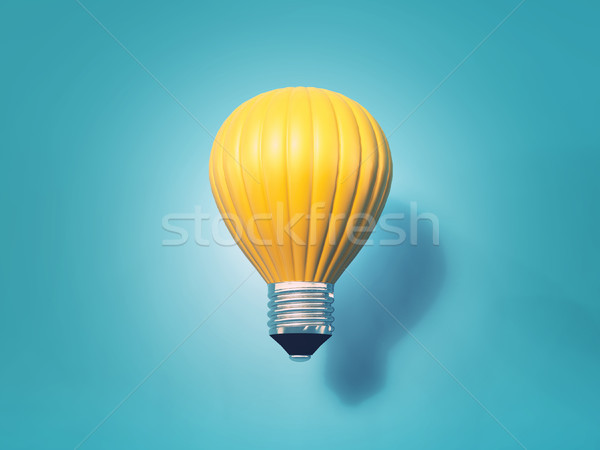 Hot air balloon energy  Stock photo © orla