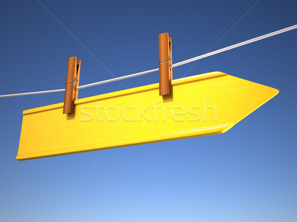 Directional sign Stock photo © orla