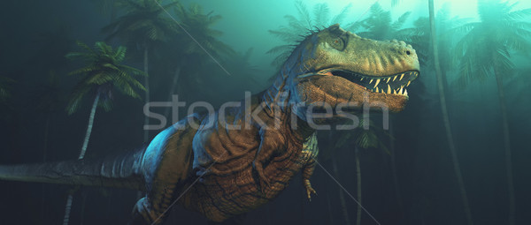 Dino dinosaurs with large fangs Stock photo © orla
