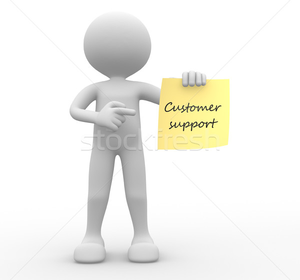 Customer support Stock photo © orla